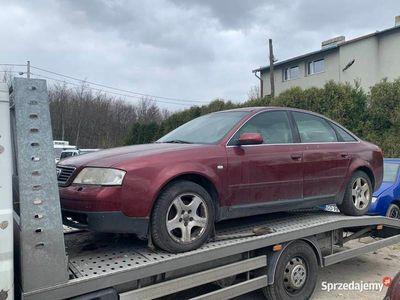 używany Audi A6 C5 2.4 165KM 1999r LPG GAZ KLIMA Skóra ALU Wspomagan