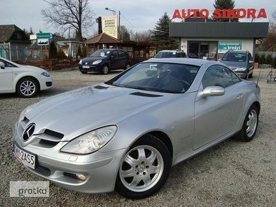 used Mercedes 200 Klasa SLK R171Skóra Parktronic Navigacja Webasto Klima