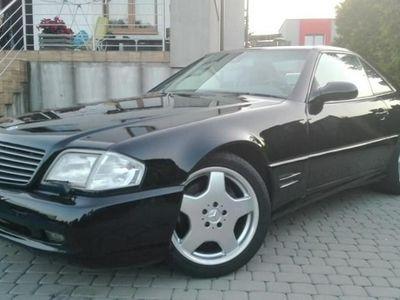 używany Mercedes SL500 5dm 306KM 2001r. 180 000km