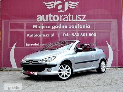 używany Peugeot 206 CC 1.9dm3 136KM 2001r. 179 000km