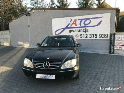 używany Mercedes S320 320CDi/197KM/Navi/Klima/stan bardzo dobry/zadbany/automat/2kplt opon W220 (1998-2005)
