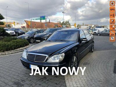używany Mercedes S500 5dm 306KM 2002r. 58 000km