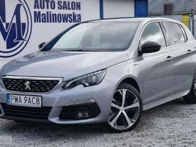 używany Peugeot 308 1.2dm 130KM 2018r. 8 000km