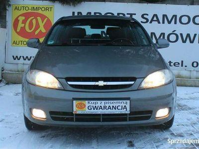 używany Chevrolet Lacetti 2.0TCDi 16V 121KM climatronic, alufelgi, półskóra, GWARANCJA