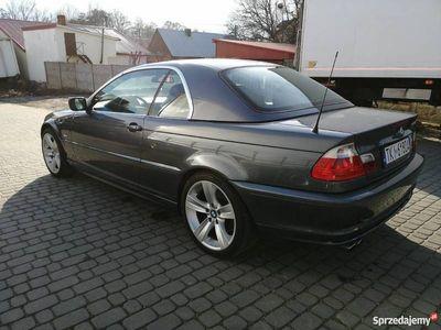 używany BMW 330 Cabriolet e46 Ci Individual HARDTOP kabriolet GAZ xenon