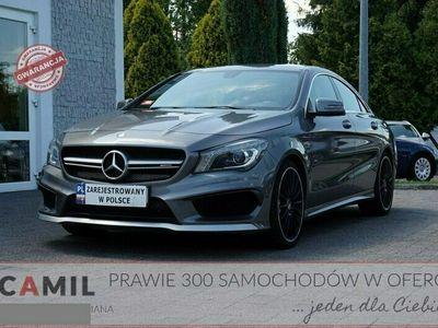 używany Mercedes CLA45 AMG 2dm 360KM 2014r. 46 000km