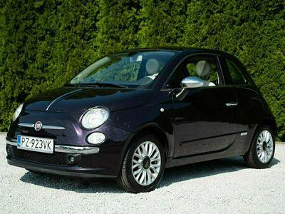 używany Fiat 500 Zarejestrowany Panorama Chrom Bluetooth Piękny Kolor