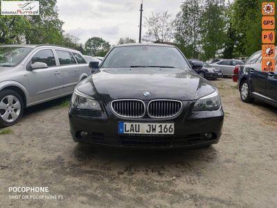 używany BMW 525 2.5dm3 170KM 2007r. 250 000km ABS automatyczna klima.
