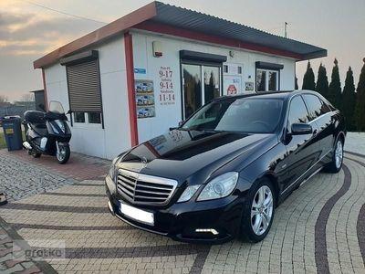 used Mercedes 220 Klasa E W2122.2CDI 170KM sedan navi skóra sedan chromy ledy zarejestrowana