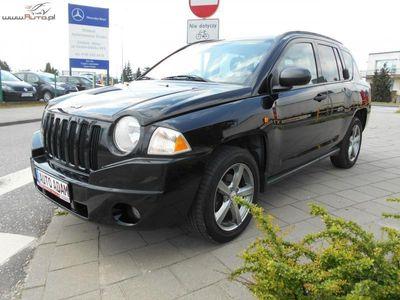 używany Jeep Compass 2.4dm3 170KM 2007r. 134 000km 2,4 Benz 170 KM Automat Klima Alu Super stan