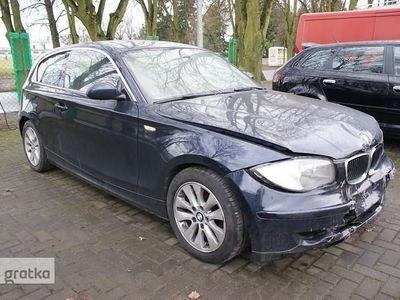 używany BMW 118 SERIA 1 118 D 143KM Tempomat Klimatronic Parktronic