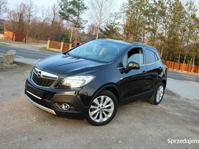 używany Opel Mokka 1.4 Turbo Oryginał Serwis COSMO Kamera Navi