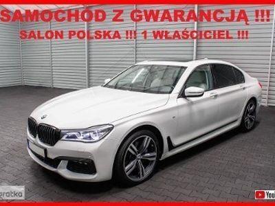używany BMW 740L SERIA 7 + M Pakiet + H/K + Salon PL + 1 WŁ + 100% Serwis !!!