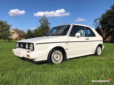 używany VW Golf Cabriolet Mk1 I # Kartmann # 1.8 98KM # Jasne Wnętrze #