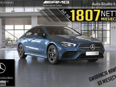 używany Mercedes CLA200 Klasa200 AMG KeylessGo Kamera360 Ambient LED