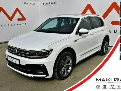 używany VW Tiguan R-Line, 180KM, DSG,PodgrzFotele, TopLED,Panorama, 4x4 II (2016-)