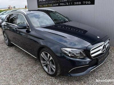 używany Mercedes E220 Exclusive/Multi-BEAM!Beżowe-Wnętrze/Navi+Kamera/El.Klapa/f.vat23 W213 (2016-)