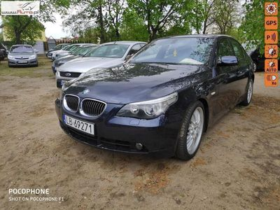 używany BMW 525 2.5dm 177KM 2004r. 244 000km