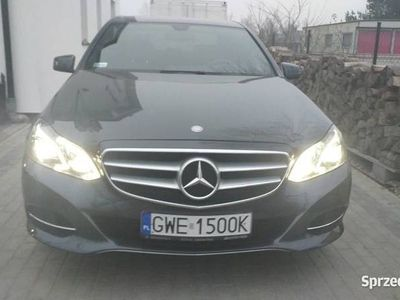 używany Mercedes E220 4matic Salon Polska stan idealny