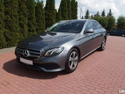 używany Mercedes E220 W213 2.0 194KM