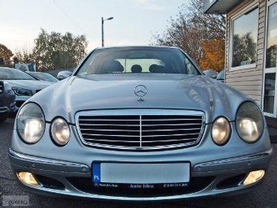 używany Mercedes E320 Klasa E W211224 KM NAVI SKÓRY SZBERDACH ALU-FELGI KLIMA