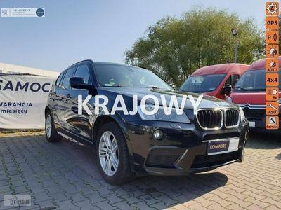używany BMW X3 2dm 184KM 2017r. 127 191km