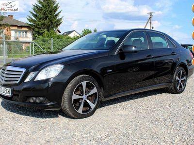 używany Mercedes E220 2.2dm 170KM 2009r. 210 477km