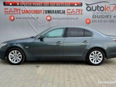 używany BMW 530 3dm 218KM 2003r. 270 000km