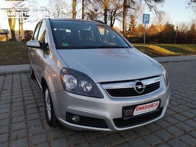 używany Opel Zafira Zafira 1.6dm3 105KM 2005r. 217 191kmB 1.6 Benz 7 osobowy Klima Alufelgi Zadbana Opłaty *GWARANCJA*