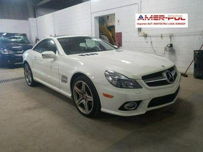 używany Mercedes SL550 5.5dm 382KM 2011r. 62 000km