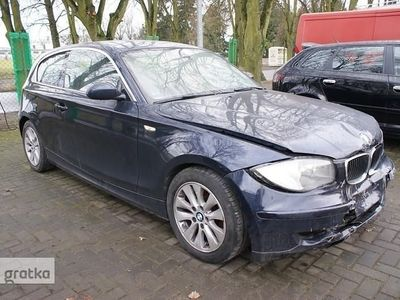 brugt BMW 118 SERIA 1 118 D 143KM Tempomat Klimatronic Parktronic