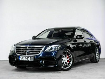 używany Mercedes S63 AMG AMG 4dm 612KM 2017r. 84 000km