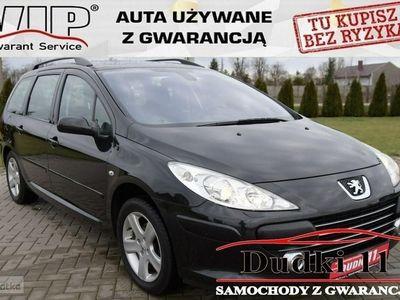 używany Peugeot 307 II 2,0b DUDKI11 Alu,klimatronic,tempomat,Panorama,kredyt,GWARANCJA, Kutno