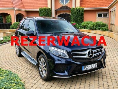 używany Mercedes GLE400 3dm 333KM 2017r. 52 000km