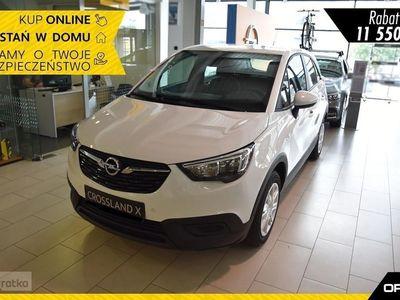 używany Opel Crossland X Enjoy 1.2 Turbo 110KM Czujnik Deszczu+Klimatyzacja Dwustrefowa+Opcje