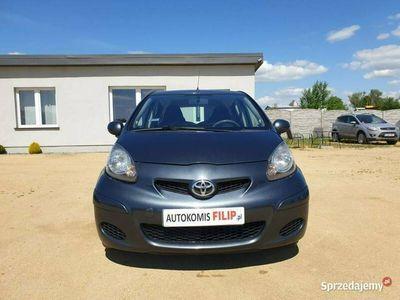 używany Toyota Aygo 1.4dm 75KM 2011r. 128 000km