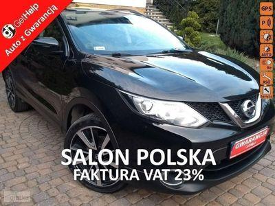 używany Nissan Qashqai II 56.8 netto Tekna Kamery 360 Navi Ledy Salon PL 1.6 DIG-T 163 KM, Gdańsk