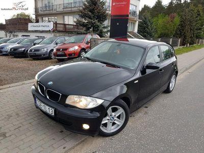 używany BMW 118 2dm3 129KM 2006r. 270 000km 2.0 129 KM Benzynka El szyby El lusterka Parktronic Klima Super stan!!