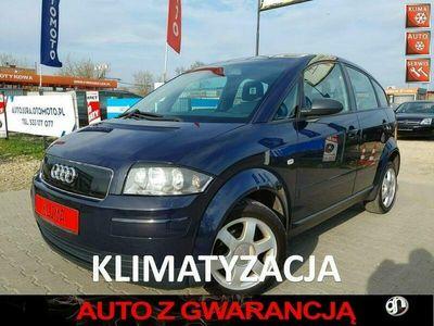 używany Audi A2 1.4 16v klimatronik ALU z Niemiec serwisowana opłacona 8Z (1999-2005)