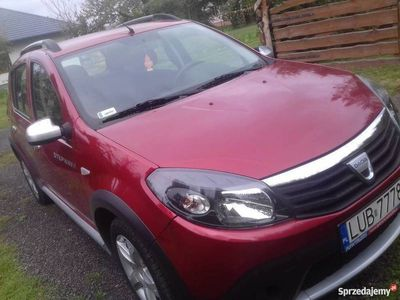 używany Dacia Sandero stepway 2010 mały przebieg