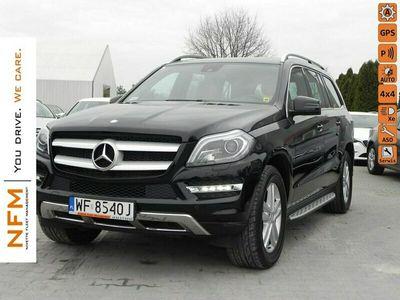 używany Mercedes GL350 3,0 CDI(258 KM) 4MATIC SUV 7os. Salon PL F-Vat X166 (2012-)