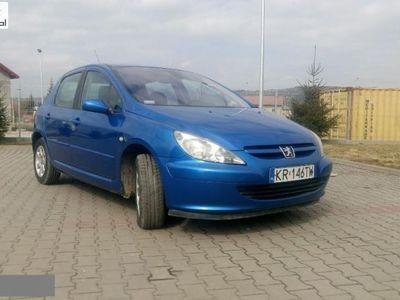 używany Peugeot 203 307 1.9dm3 107KM 2004r.093km ABS ręczna klima.