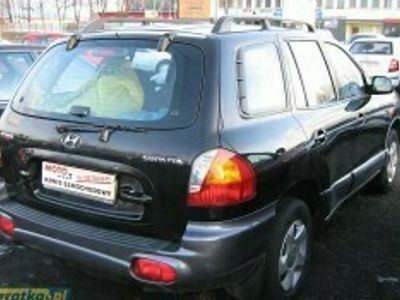 używany Hyundai Santa Fe I