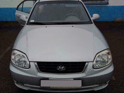 używany Hyundai Accent 1.4dm 86KM 2005r. 75 000km
