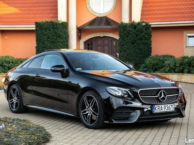 używany Mercedes E220 2dm 194KM 2017r. 79 000km
