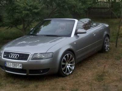 używany Audi A4 Cabriolet B6