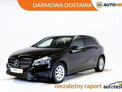 używany Mercedes A200 DARMOWA DOSTAWA Pół skóra, PDC, Podg.fotele, Klima, 1wł W176 (2012-)