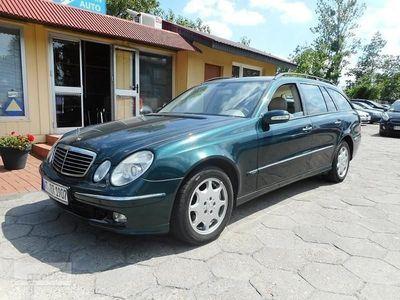 używany Mercedes 320 Klasa E W2113,2 CDI 204 KM Automat Nawigacja
