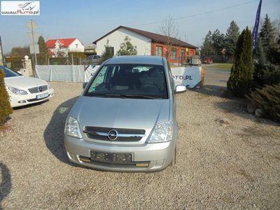 używany Opel Meriva 1.4dm3 90KM 2005r. 133 000km Pełen serwis niski przebieg bezwypadkowa jeden właściciel !