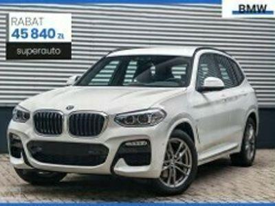 używany BMW X3 G01 xDrive20i M Sport sport-aut (184KM) | ConnectedDrive Plus